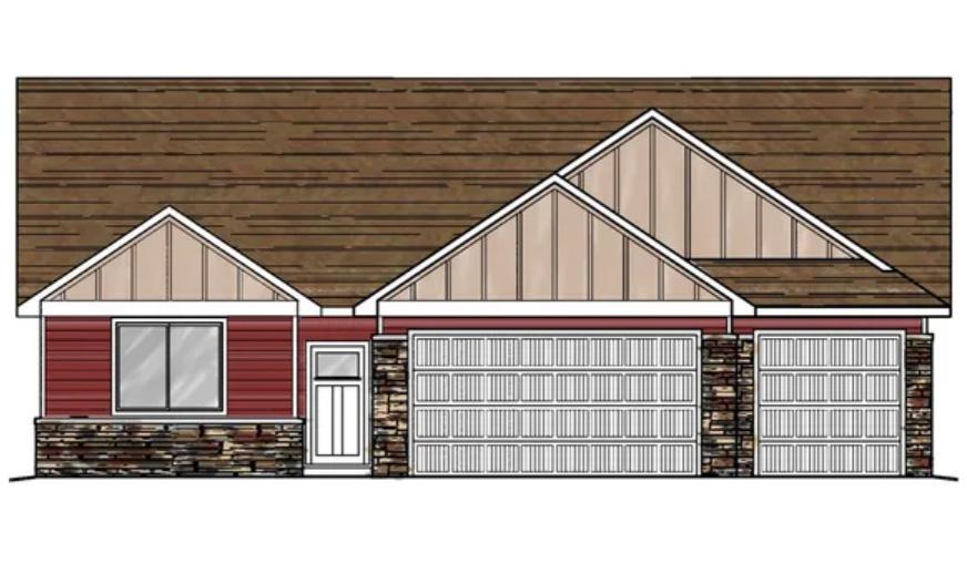 1336 Fivemile Creek Ave, Montrose CO - Model Sketch