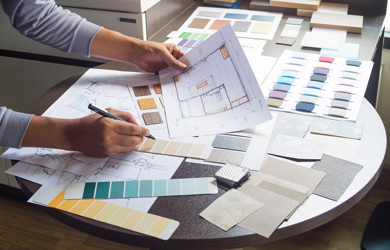 choosing options for a custom home