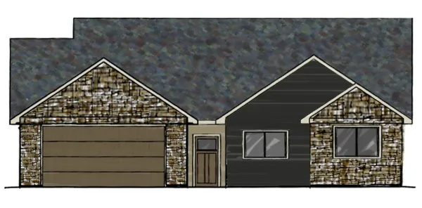 Home Sketch of 2548 Pecan St, Montrose CO