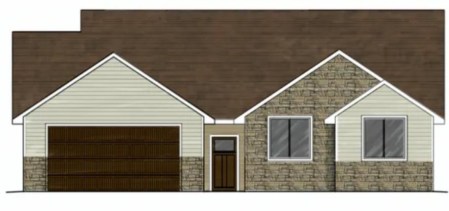 317 Howard Fork Ave - Home Sketch