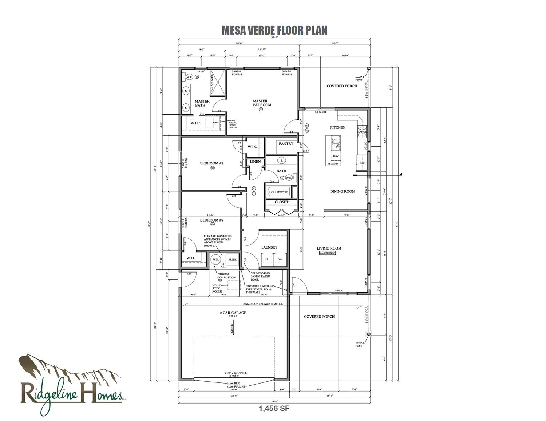 Mesa Verde Floor Plan