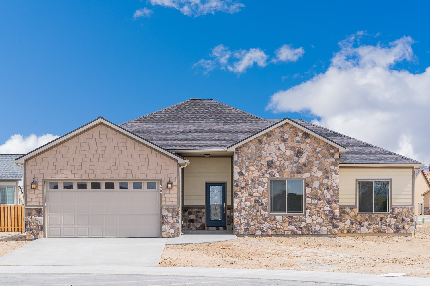 custom home in Montrose, Colorado
