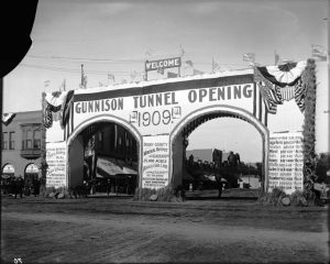 The Gunnison Tunnel allowed for irrigation in the valley, which brought more farmers and ranchers to Montrose